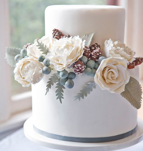 small wedding cakes with fresh flowers 191 c 243 mo elegir el pastel de bodas izuky photography 20244